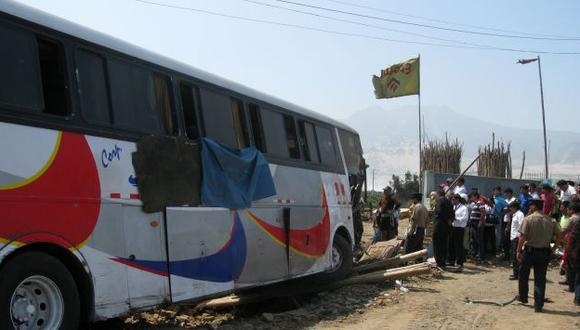 El vehículo de transporte interprovincial se dirigía de Huaraz a Chimbote. (USI/Referencial)