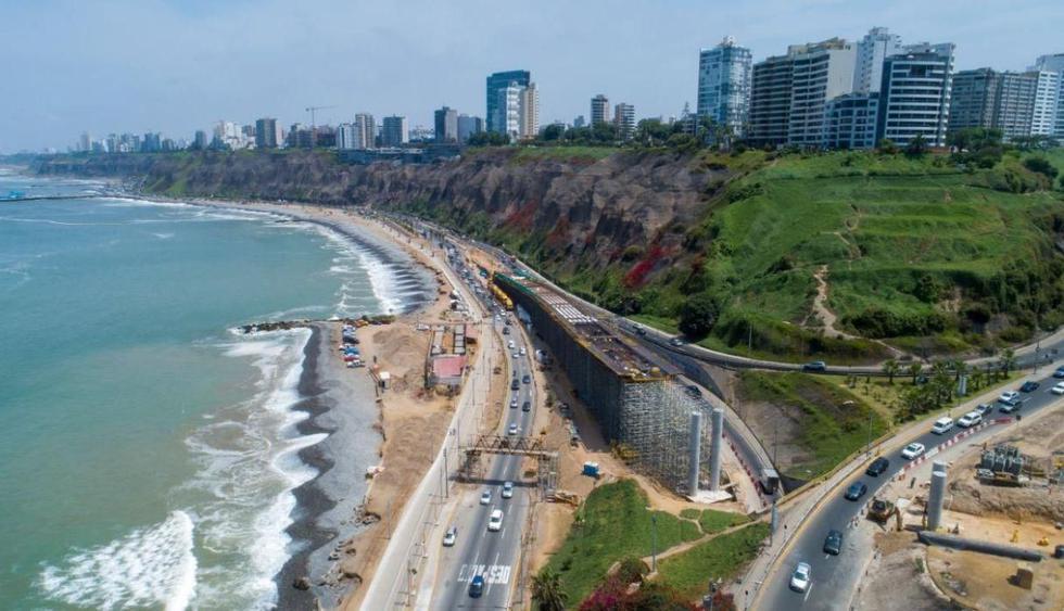 La Costa Verde fue cerrada temporalmente como medida de precaución esta madrugada. (Foto: Municipalidad de Lima)
