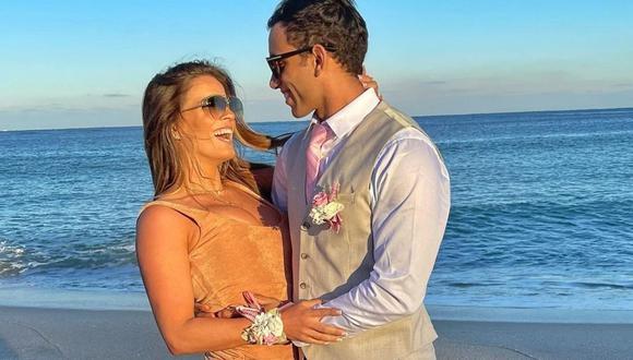 Alejandra Baigorria y Said Palao empezaron una relación hace unos meses, aunque tienen más tiempo saliendo. (Foto: Instagram /alejandrabaigorria).