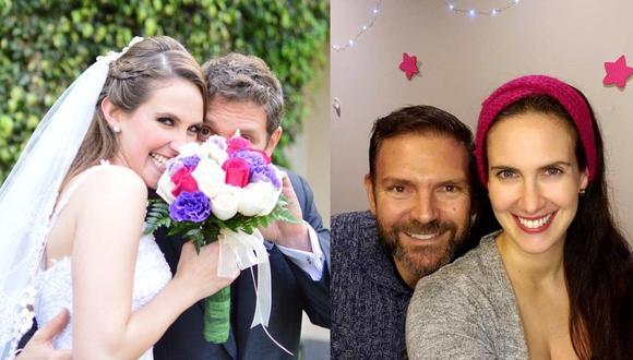 Emilia Drago y su esposo Diego Lombardi cumplieron seis años de feliz matrimonio. (Instagram)