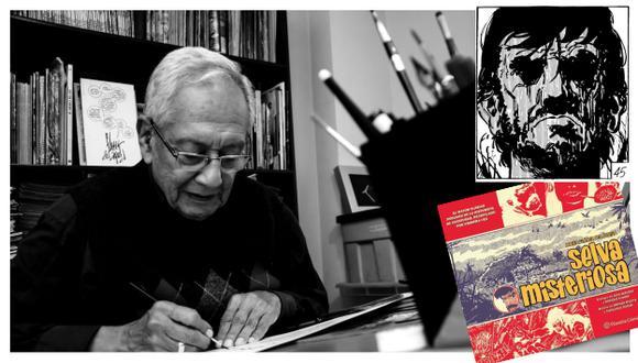 Javier Flórez del Águila, creador de 'Selva misteriosa' (Difusión).