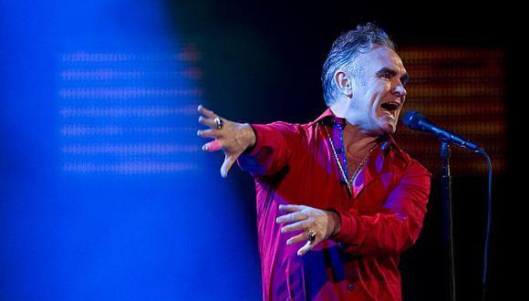 Morrissey descartó por completo cantar en nuestro país. (AFP)