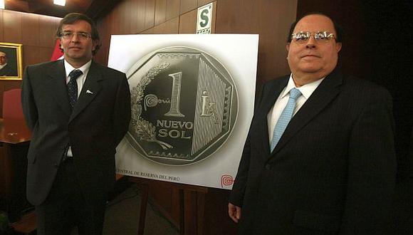 El ministro de Comercio y Turismo y el titular del BCR participaron en acto. (Andina)