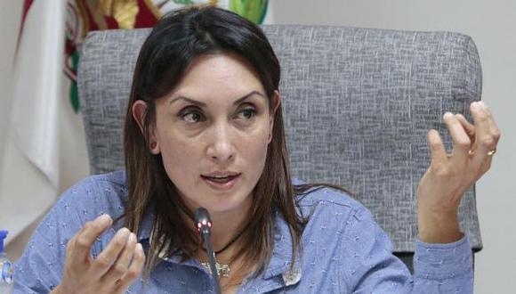 Patricia Donayre afirmó que Olaechea actúa como parte de Fuerza Popular, pese a que no pertenece a dicha bancada. (Foto: GEC)