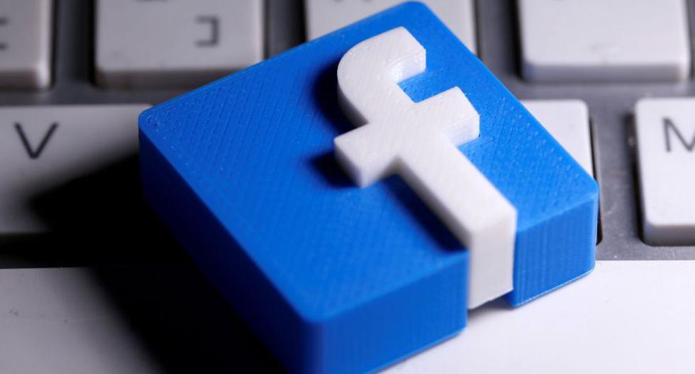 Imagen de un logotipo de Facebook impreso en 3D. (REUTERS/Dado Ruvic/Illustration/File Photo).