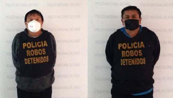 Desarticulan banda delincuencial 'Los Farmacovid de Belaúnde'. (Foto: PNP)