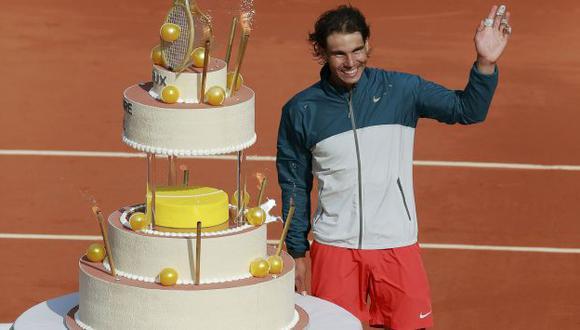 GOLOSO. El español busca su octava corona en Roland Garros. (Reuters)