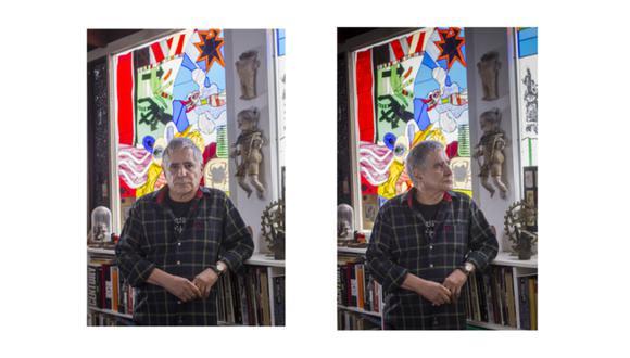 """Pintor de mundos. """"En realidad, hay muchos Tola, demasiados quizás"""", dijo el artista a Perú21 en 2013.  (GEC)"""