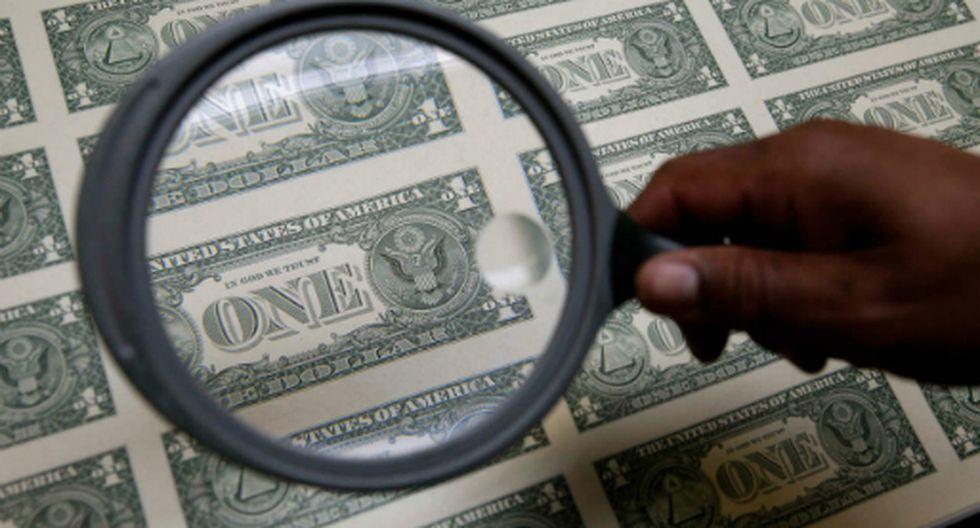 El tipo de cambio cerró a la baja el martes. (Foto: Reuters)