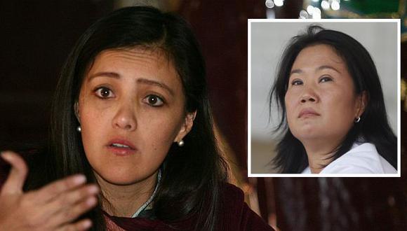 Yamila Osorio respondió a Keiko Fujimori. (Perú21)