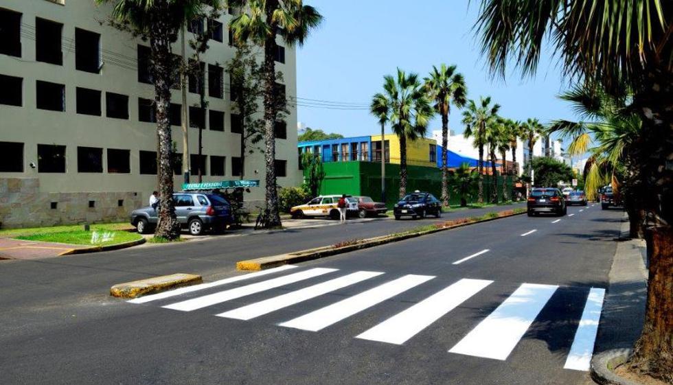 Avenida Belén. (Municipalidad de San Isidro)