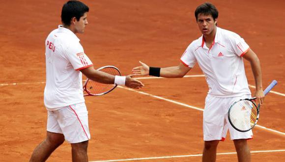 Imbatibles. Perú no pierde en dobles desde el 2010. (Rolly Reyna/USI)
