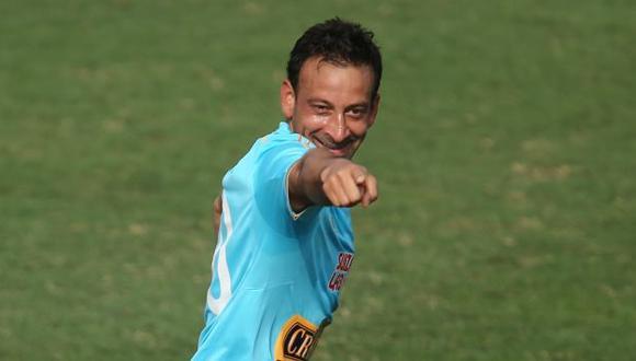 Sergio Blanco, delantero de Sporting Cristal, quiere destaparse ante Universitario. (Perú21)