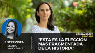 """Camila Bozzo: """"Esta es la elección mas fragmentada de la historia"""""""