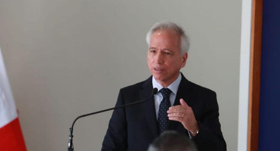 Aldo Vásquez indicó que el concurso para elegir a los jefes de la ONPE y Reniec podría ser virtual en su totalidad. (Foto: GEC)
