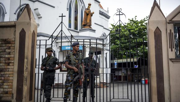 Una serie de atentados dejaron cientos de víctimas en Sri Lanka. (Foto: AFP)