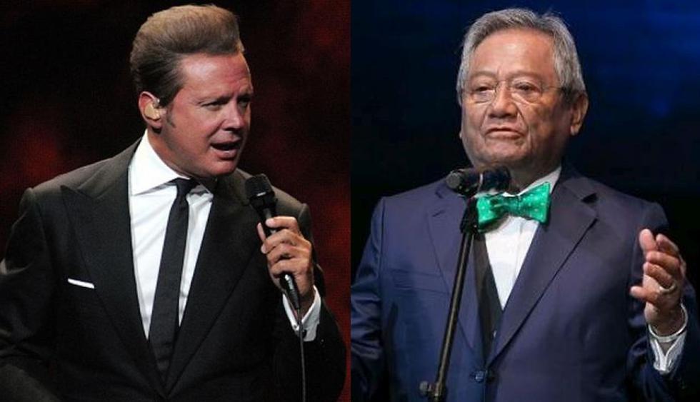 Luis Migue y Armando Manzanero tuvieron una buena relación profesional en el pasado. (Getty Images)