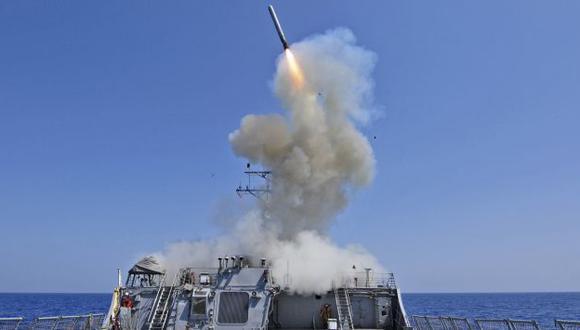 Poderío naval estadounidense ya está frente a Siria. (Reuters)