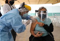 COVID-19: Se retoma vacunación a adultos mayores de 70 años a más hoy sábado 8 de mayo