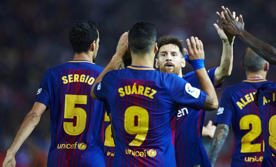 Barcelona, líder absoluto de la clasificación española con puntaje perfecto, recibe a Las Palmas. (EFE)