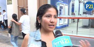 Los peruanos hablan en el día de la Mujer