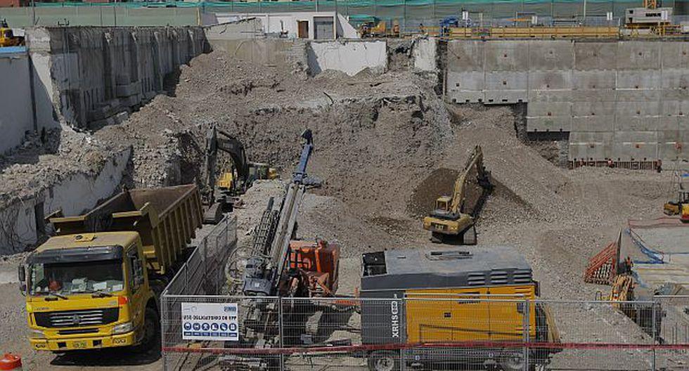 Cepal indica que el sector construcción es uno de los motores dinámicos de nuestra economía. (David Vexelman)