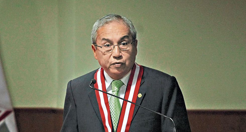 No se baja. Pedro Chávarry dijo que no cometió irregularidades y que no dará un paso al costado. (USI)