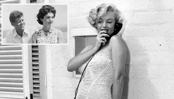 LA LLAMÓ. Monroe habló directamente con Jackie Kennedy. (Internet)