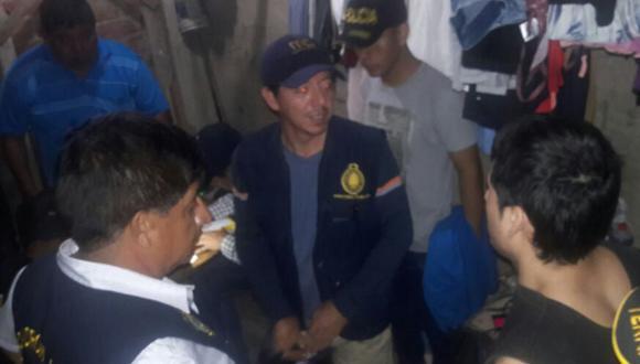 Agentes PNP evitaron que se concrete ataque redoblando seguridad de Edwin Ramos.(Andina)
