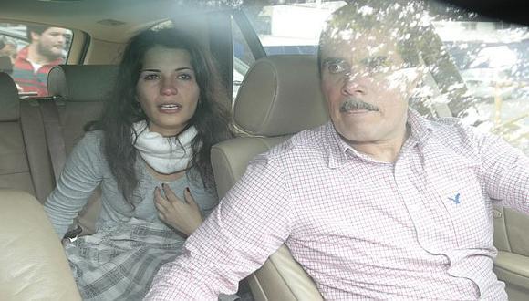 Eva Bracamonte cumple su tercer día en libertad. (Perú21)