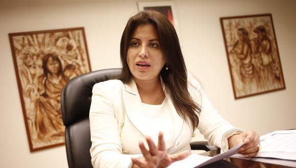 Carmen Omonte consideró que el presidente Martín Vizcarra debería evaluar algunos cambios en el gabinete ministerial. (Foto: César Fajardo / GEC)
