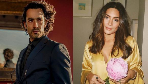 """Aarón Díaz y Ana Brenda Contreras comienzan el rodaje de """"Toda la sangre"""". (Foto: Composición/Instagram)"""
