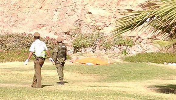 Chile: Mujer se suicidó lanzándose desde el Morro de Arica. (Difusión)