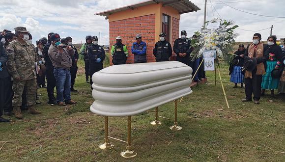 Puno: despiden a soldado que murió atropellado por conductor irresponsable