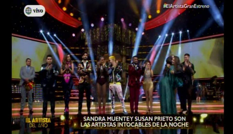 """Estos son los 11 participantes de """"El artista del año"""". (Foto: Captura de video)"""