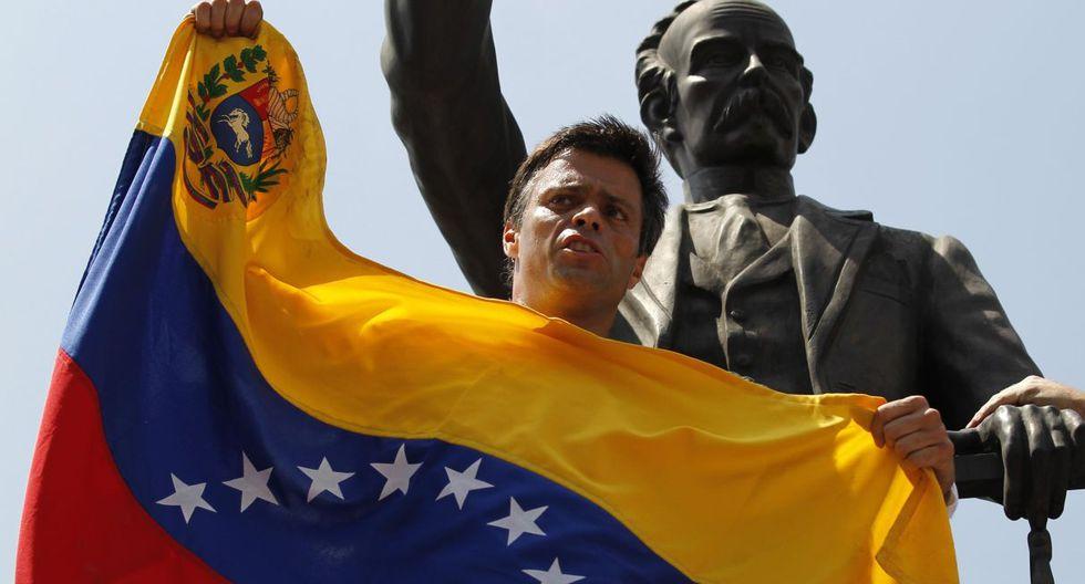 Leopoldo López, el famoso líder opositor que inquieta a Nicolás Maduro (Foto: Reuters)