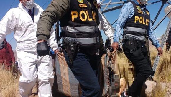 Puno: Rayo impacta en adolescente de 15 años y le provoca la muerte (Foto: PNP)