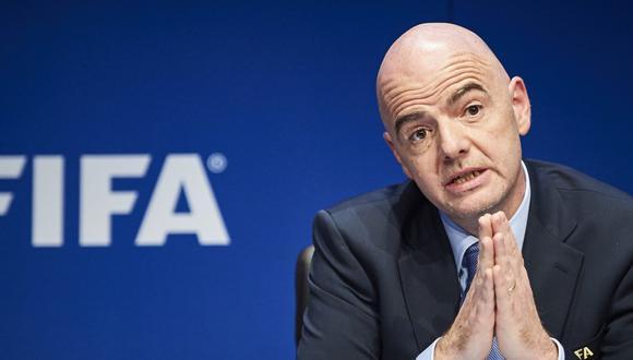 Gianni Infantino daría una gran sorpresa para el siguiente Mundial de fútbol (Foto: AFP).