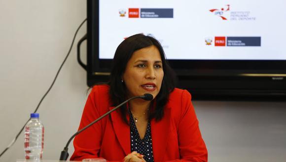 Flor Pablo se desempeñó como ministra durante la gestión de Martín Vizcarra. (Foto: GEC)