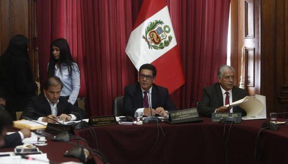 Comisión de Ética tiene en agenda expedientes de cuatro congresistas de Fuerza Popular.