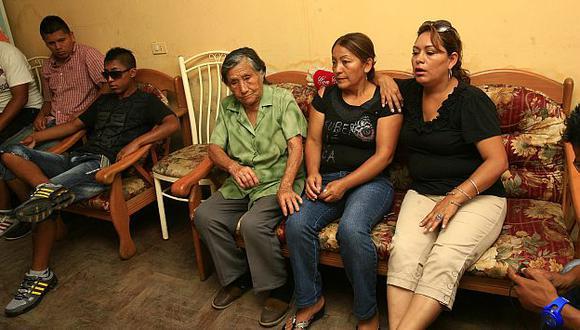 Familiares de las víctimas. (USI)