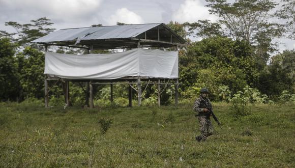 La operación se llevó a cabo en la Quebrada de Huambramayo, en la región Ayacucho. (Foto: César Campos)