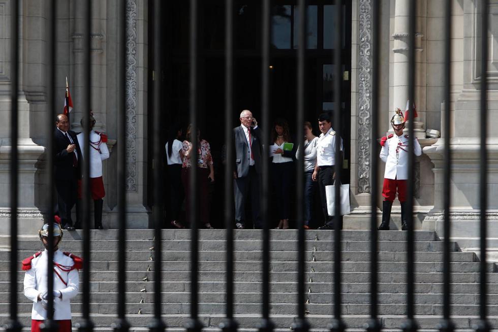 PPK renunció a la presidencia en marzo de 2018 en medio de cuestionamientos por el indulto a Alberto Fujimori y presuntos vínculos con Odebrecht. (Renzo Salazar/GEC)