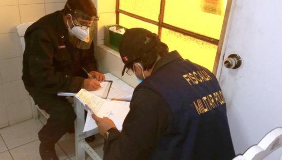 Junín: El Fuero Militar Policial inició investigación a policías de la ciudad de Huancayo por presentar presuntos descansos médicos falsos que indicaban que padecían COVID-19. (Foto: Fuero Militar Policial)