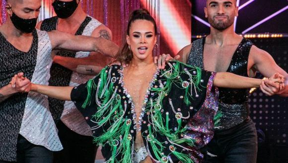 """Jossmery Toledo le respondió a competidoras de """"Reinas del show"""" por decirle que """"no tiene compromiso"""". (Foto: @elgranshow)"""