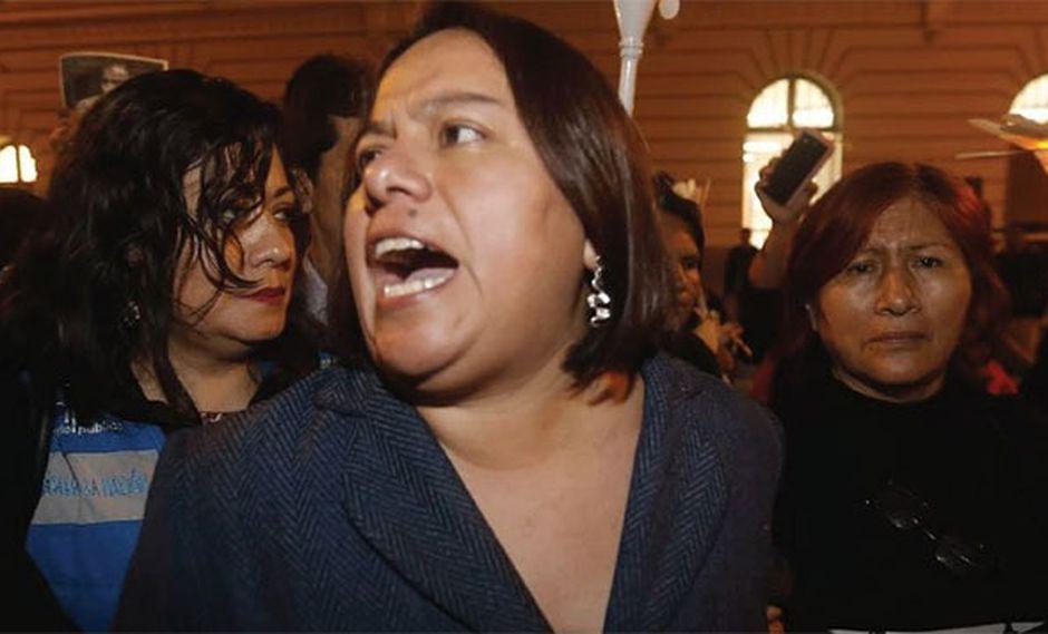 """La hija de Hugo Bustíos también pidió que el nuevo proceso contra Daniel Urresti por el crimen de su padre esté a cargo de """"jueces probos"""". (Foto: GEC)"""