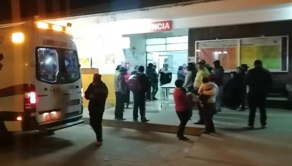 El fuego cruzado ocurrió en el centro poblado Callqui Chico, en la  provincia de Huancavelica. (Foto: Radio Nueva)