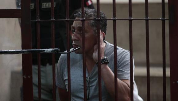 A Antauro Humala ya se le agotó las instancias internas. (César Fajardo/Peru21)