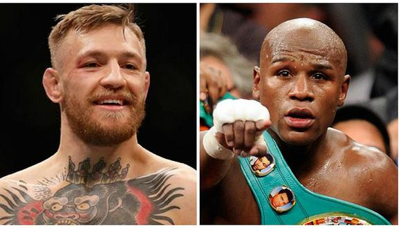Floyd Mayweather y Conor McGregor pelearon en Las Vegas en agosto de 2017. (Foto: AFP)
