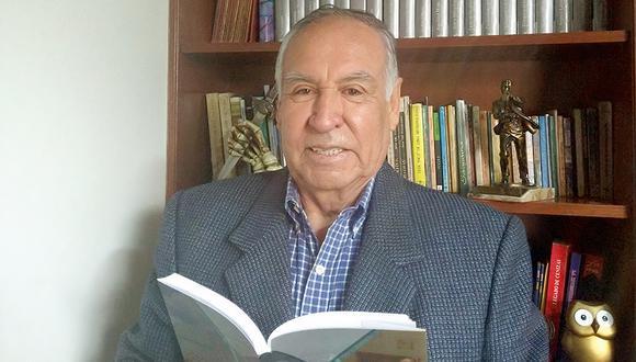 El autor nos comenta sobre las razones que lo llevaron a escribir este libro y opina sobre la situación actual de la PNP en la cual sirvió por 38 años. (Foto: Jorge Cárdenas)
